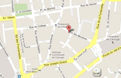 plan quimper carouge